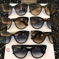 GUCCI Women Fashion Glasses Sunglasses