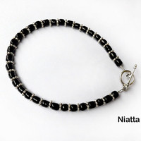 Unisex Minimal Beaded Bracelet in 7 colors Niatta