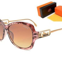 Hermes Fashion Unisex Personality Summer Sun Shades Eyeglasses Glasses Sunglasses I