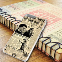 Harry Potter Daily Prophet Newspaper iPhone 6 Plus | iPhone 6S Plus Case