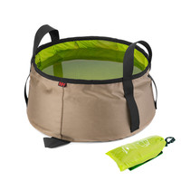New Arrival UltraLight Folding Basin Camping Folding Water Basin Waterproof Bag AO1XLP4