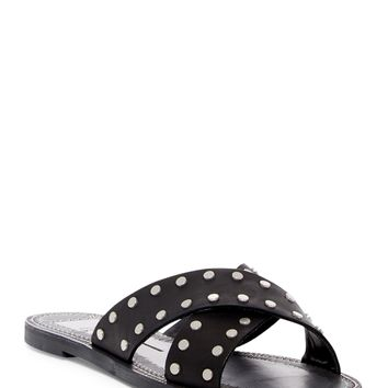Dolce Vita | Casta Studded Leather Slide Sandal | Nordstrom Rack