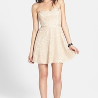 Devlin Strapless Lace Dress | Nordstrom