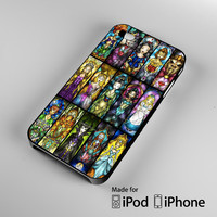Disney Princesses And Other Character iPhone 4S 5S 5C 6 6Plus, iPod 4 5, LG G2 G3, Sony Z2 Case