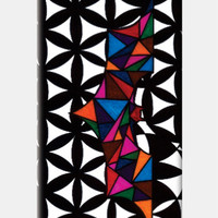 Bordered Floral Batman iPhone 5C Case| Geometric | Triangle | Absttract | Artist: Subham Lohani