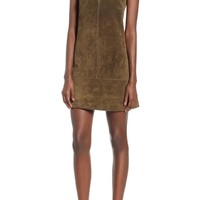 BLANKNYC Suede Shift Dress | Nordstrom
