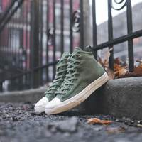 Converse x Hancock Jack Purcell Mid QS - Military Green