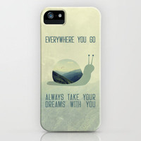 Always take the dreams with you iPhone Case by Belle13   Society6