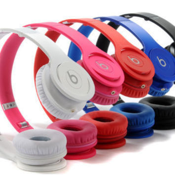 Beats by Dr. Dre Solo HD Drenched Matte Headband Headphones