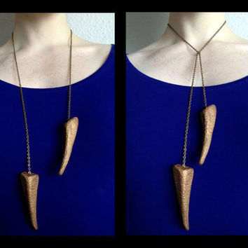 Game of Thrones Inspired Dragon Claw Necklace