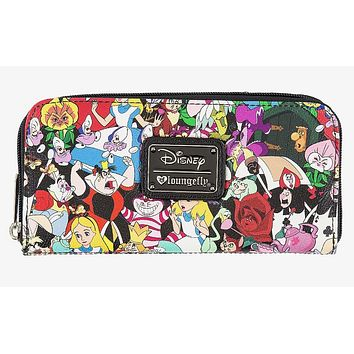Disney Alice in Wonderland Wallet by Loungefly New with Tags