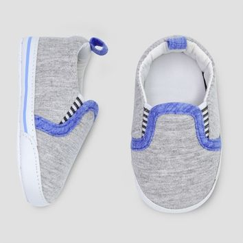 Baby Boys' Slip On Sneaker - Just One You® made by carter's Heather Gray 0-3M