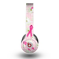 The Pink Ribbon Collage Breast Cancer Awareness Skin for the Beats by Dre Original Solo-Solo HD Headphones