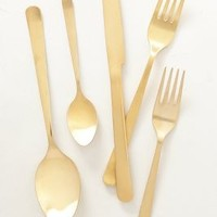 Vika Sky Flatware by Anthropologie