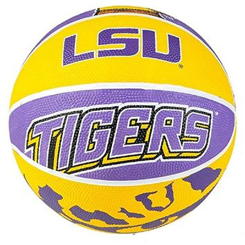 "9.5"" LSU TIGERS REGULATION BASKETBALL"