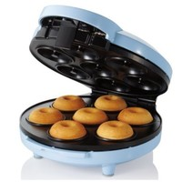 Sunbeam FPSBDMM921 Mini Donut Maker, Blue