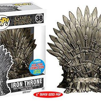 NYCC Exclusive 6'' Funko pop Official TV: Game of Thrones - Iron Throne #38 Collectible Vinyl Figure Model Toy with Original box