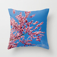 NATURAL PINKNESS Throw Pillow by catspaws