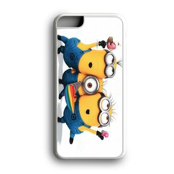Black Friday Offer Despicable Me Dancing Minions Happy iPhone Case & Samsung Case