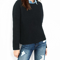 Chunky Shaker Knit Sweater from EXPRESS