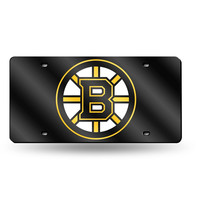 Boston Bruins NHL Laser Cut License Plate Tag