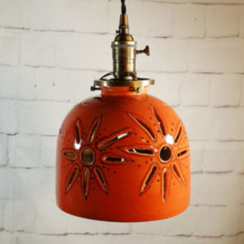 Lighting, Pendant Lights, lights, kitchen light, Hanging Light, Chandelier, restaurant lighting, pottery,  reproduction
