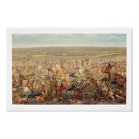 Custer's Last Stand (0482A) Posters from Zazzle.com