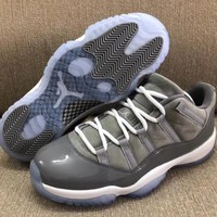 "Air Jordan 11 Retro Low ""Cool Grey"" 2018 - Best Deal Online"