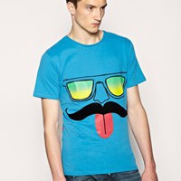 Humor Jakato Face T-Shirt at ASOS