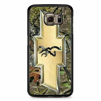 Camo Browning Chevrolet Samsung Galaxy S6 Case