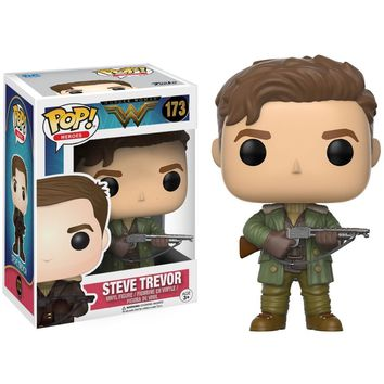 Steve Trevor addedder Woman Film Funko Pop! Figure #173