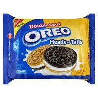 Oreo Double Stuf Heads or Tails Sandwich Cookies 15.25 oz
