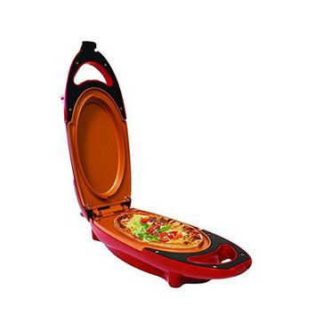 As Seen On TV Red Pan Copper Pan 5 Minute Chef Non Stick Cookware