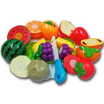 8Pcs/set Kids Pretend Role Play Food