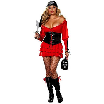 Dreamgirl Womens Halloween Party Pirate Costume
