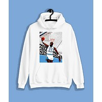 """""""YOUNG KING"""" Pullover Hoodie (Available in Black &White)"""