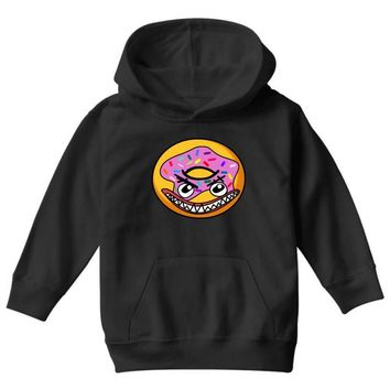 Angry Donut Youth Hoodie