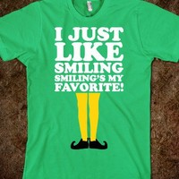 I Just Like Smiling(Shirt)