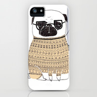 Pug  iPhone & iPod Case by Phillippa Lola