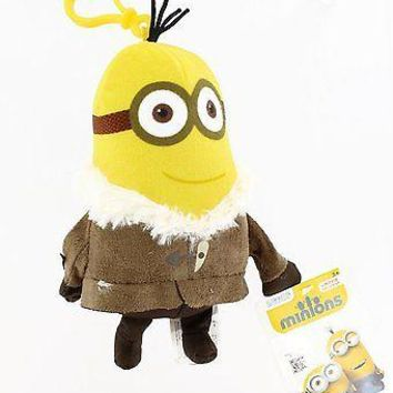 Minions Movie: Ice Village Kevin Backpack Plush Backpack Clip Keychain