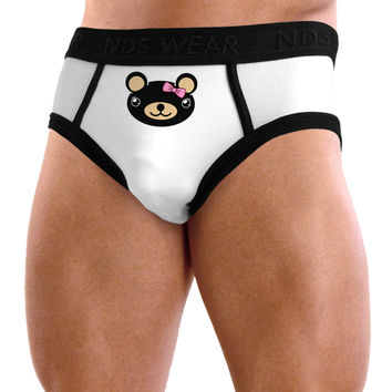 Kyu-T Head - Night Beartholomea Girl Teddy Bear Mens NDS Wear Briefs Underwear