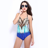 New Arrival Summer Swimsuit Hot Beach Leopard Sexy Swimwear Bikini [6532757959]