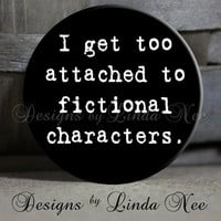 EXCLUSIVE to my Shop I get too attached by DesignsbyLindaNeeToo