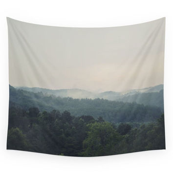 Society6 The Great Smoky Mountains Wall Tapestry