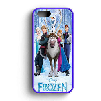 Disney Frozen, Olaf The Snowman Character iPhone 5 Case iPhone 5s Case iPhone 5c Case