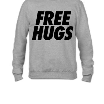 Free Hugs huge - Crewneck Sweatshirt