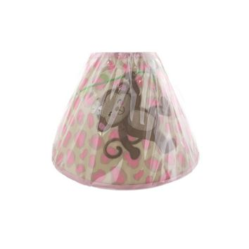 "Babies""R""Us Monkey/Giraffe Baby Girl Nursery Lamp Shade"