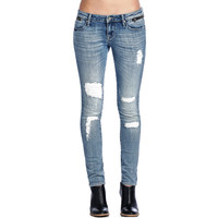 Cult Of Individuality Zen Midrise Womens Jeans In Classic