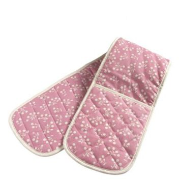 Mary Berry Pink Double Oven Glove