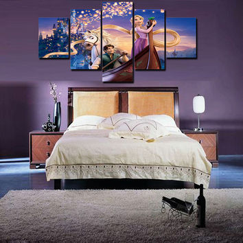 Unframed Canvas HD Prints Pictures For Children Bedroom Decor Fi